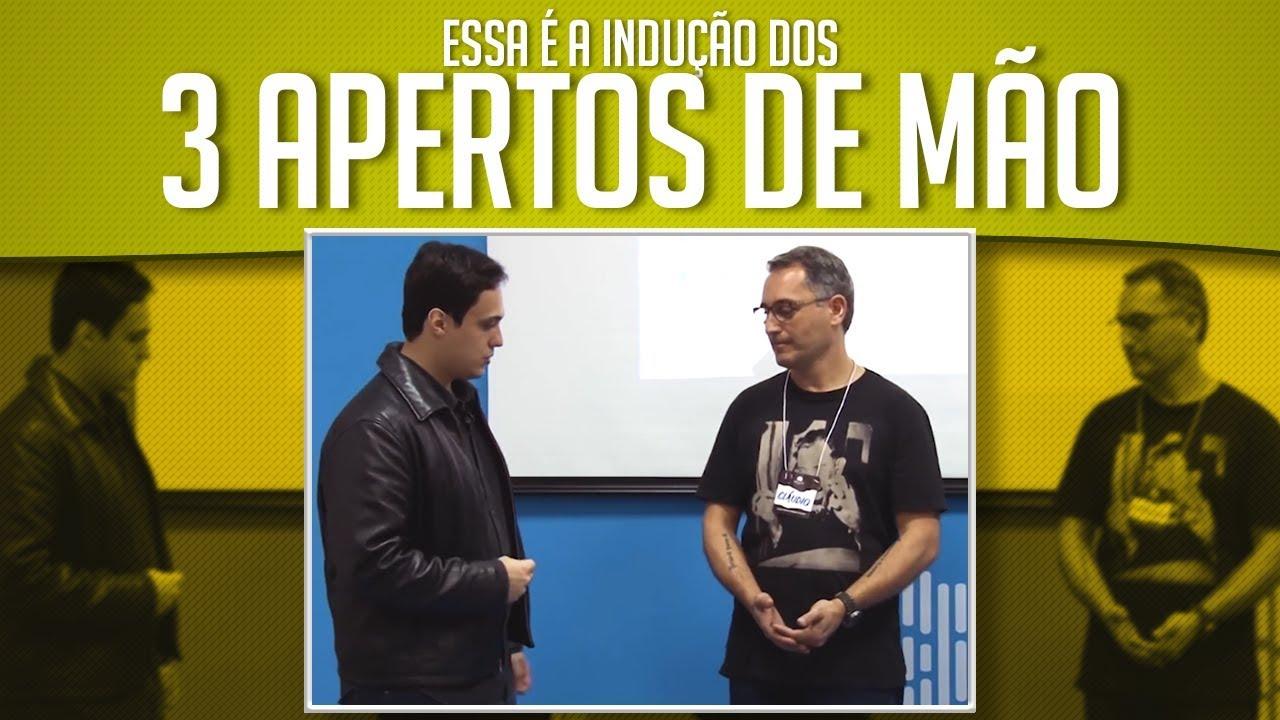 HIPNOSE- INDUÇÃO DOS 3 APERTOS DE MÃO DE DAVE ELMAN