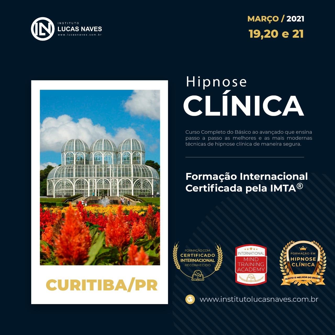 Formação Internacional em Hipnose Clínica / Curitiba