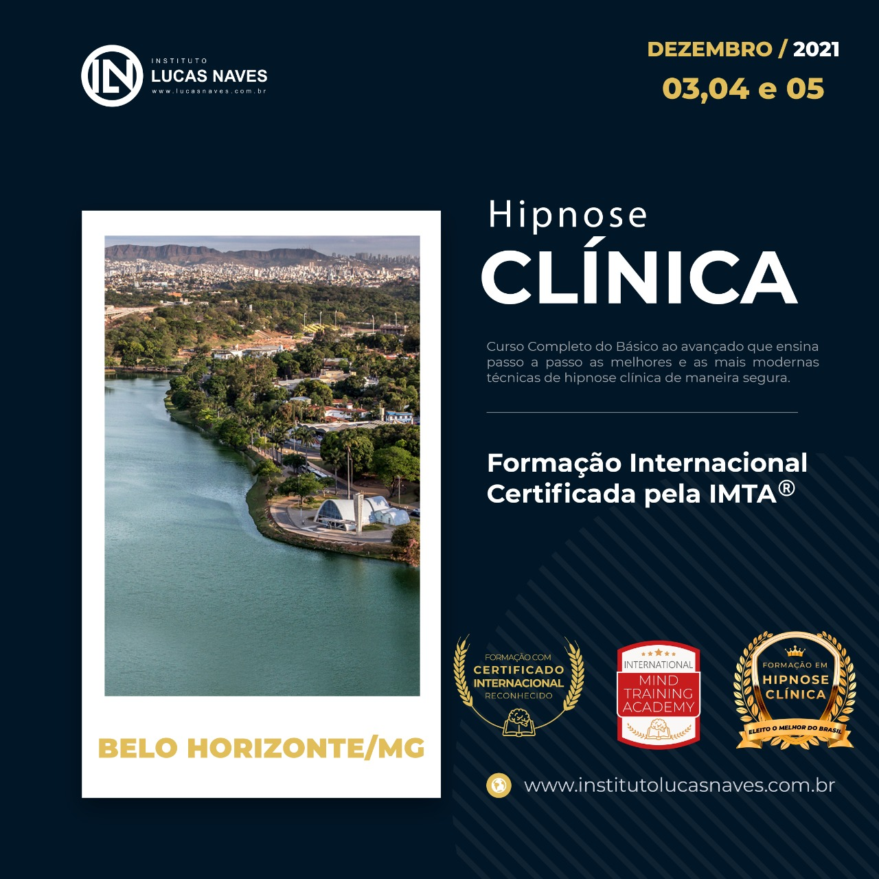 Formação Internacional em Hipnose Clínica / Belo Horizonte