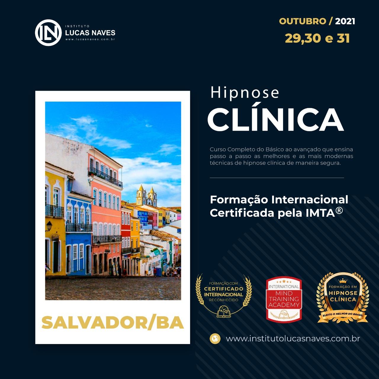 Formação Internacional em Hipnose Clínica / Salvador