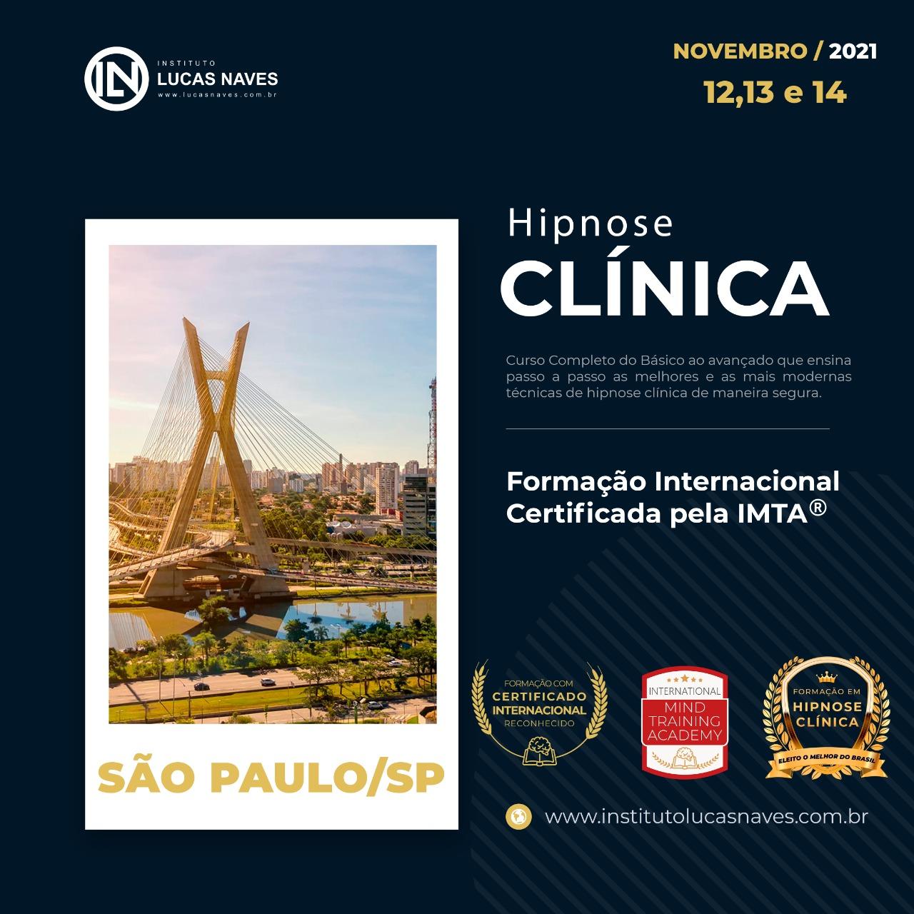 Formação Internacional em Hipnose Clínica / São Paulo